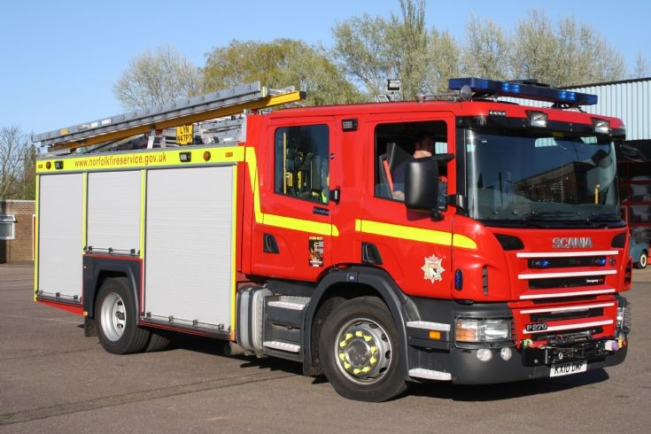 Scania P270 SRS CP31/Emergency-One HRP