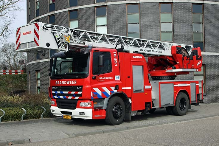 Brandweer Gorinchem Ladder DAF Magirus