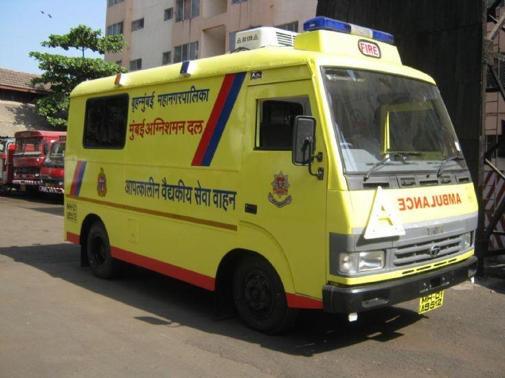 mumbai fire dept ambulance