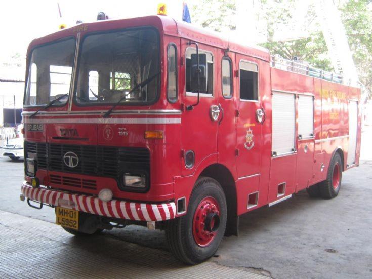 Mumbai Fire truck TATA