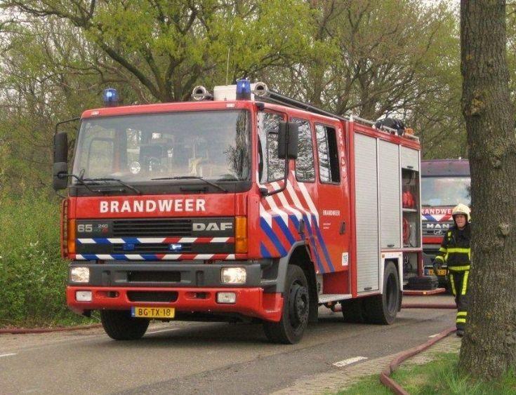 Brandweer Weert DAF appliance
