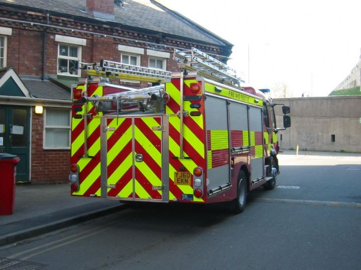 Rear view of York's new Rescue Pump