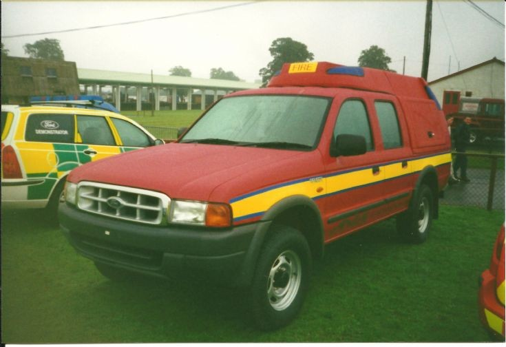 Ford Ranger Truckfest Scotland 2002