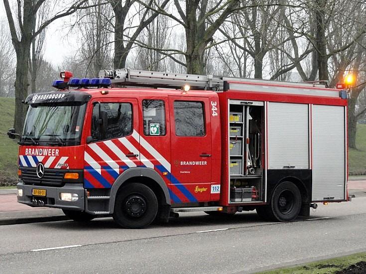 Brandweer Hoofddorp Mercedes Ziegler