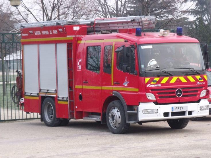 Fourgon Pompe Tonne Mercedes FPT7.