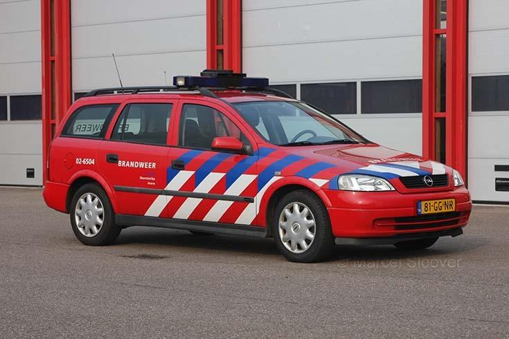 Opel Astra brandweer Skarsterlan
