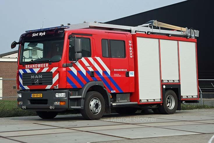 Brandweer Sint Nicolaasga MAN HDS Godiva