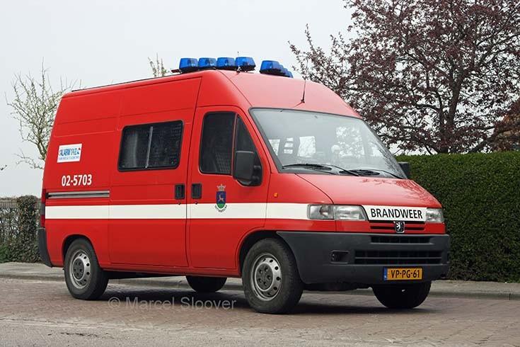 Brandweer Witmarsum Peugeot 02-5703