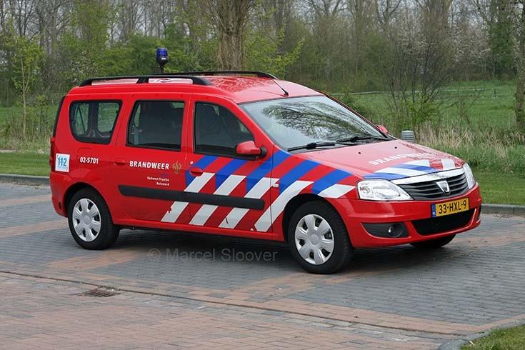 Brandweer Bolsward Dacia Logan 02-5701