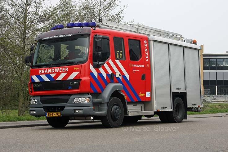 Brandweer Sneek DAF LF Ziegler 02-5731