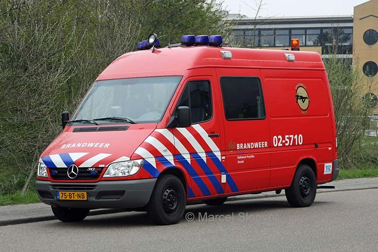Brandweer Sneek Mercedes Sprinter 02-5710