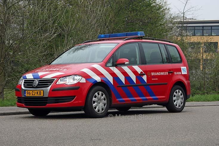 Brandweer Friesland VW Touran
