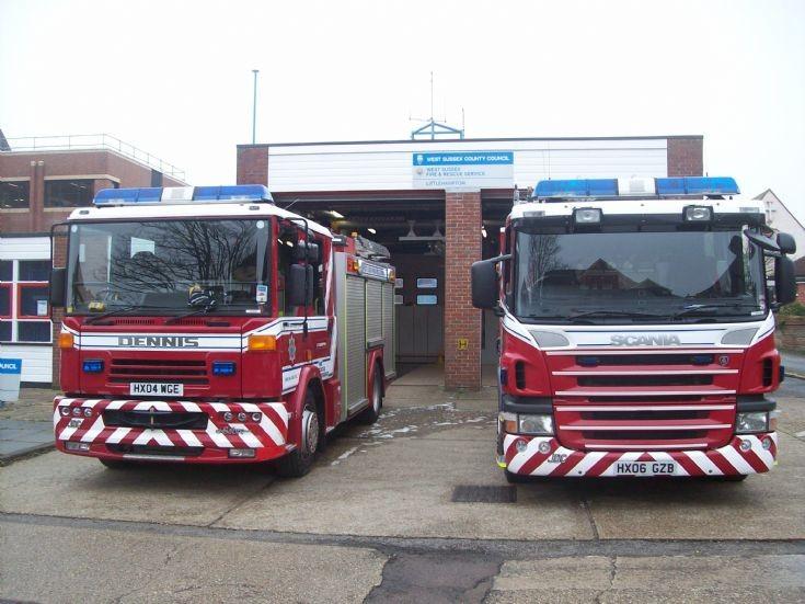 west sussex fire and rescue   , littlehampton