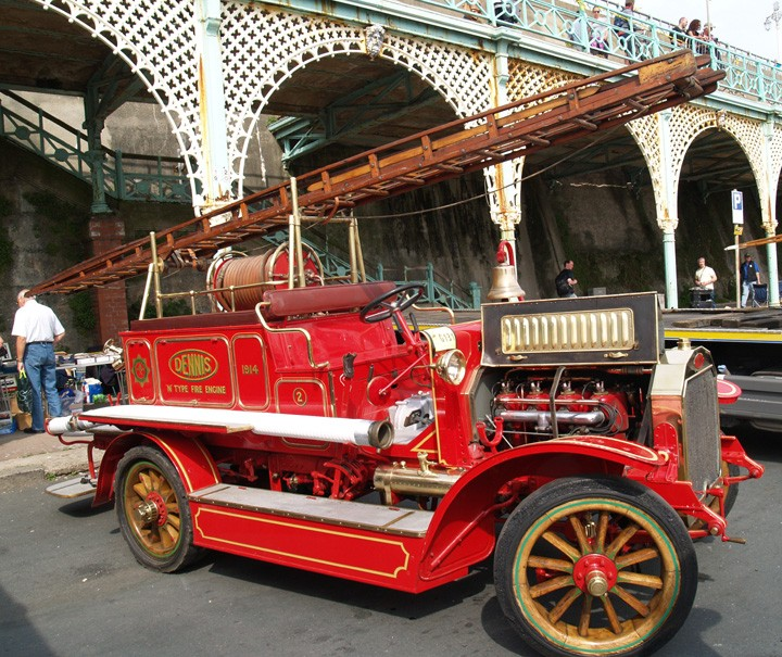 Fire Engines Photos Dennis N Type At London To
