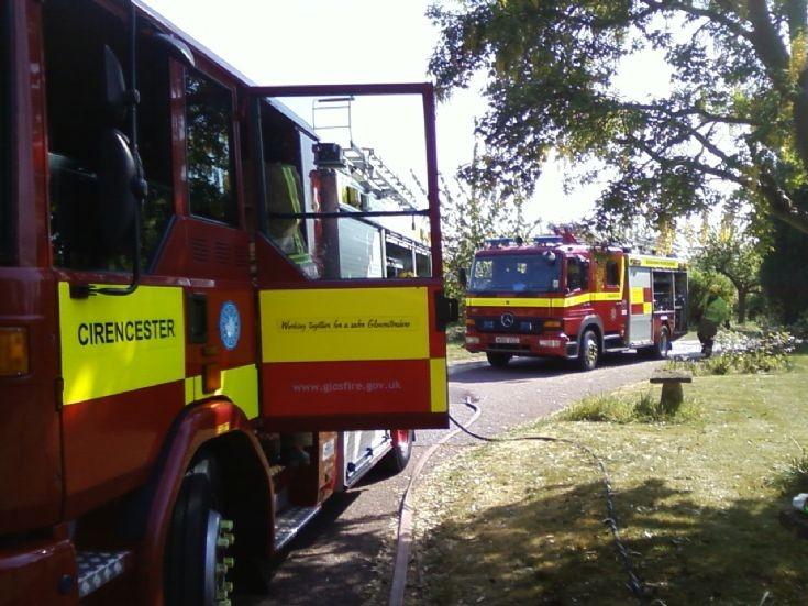 Cirencester. Gloucestershire Fire & Rescue
