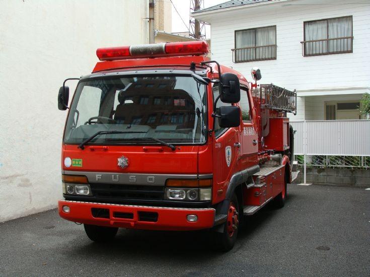 Fuso Chemical Pumper - Fire Department Tokyo