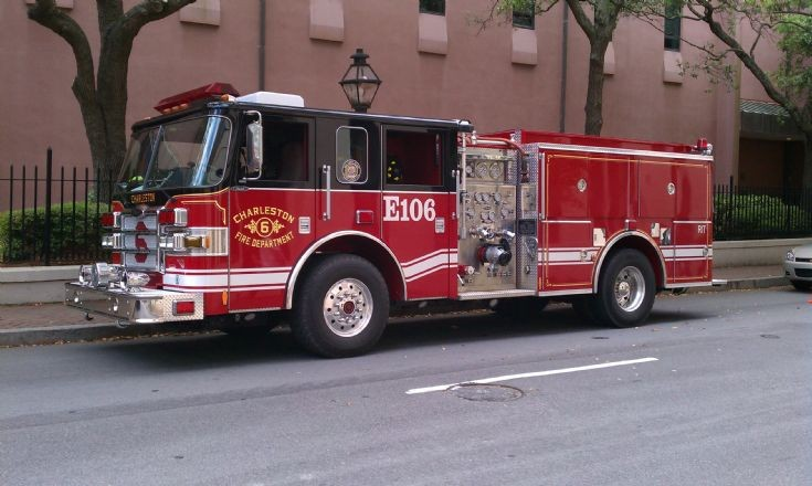 Engine 106 of the Charleston Fire Department, SC