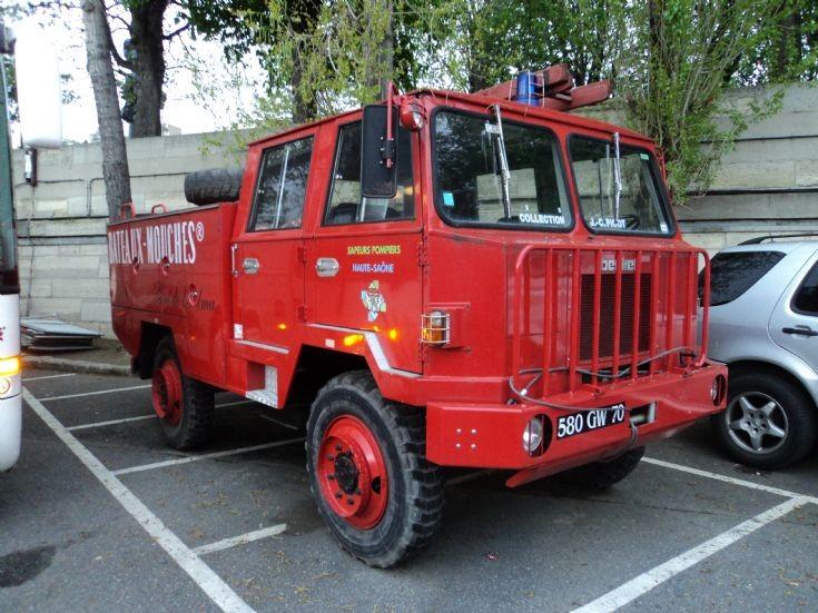 Berliet fire truck 580 GW 70