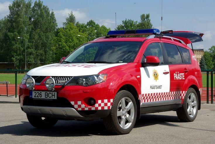 Estonian fire chief car
