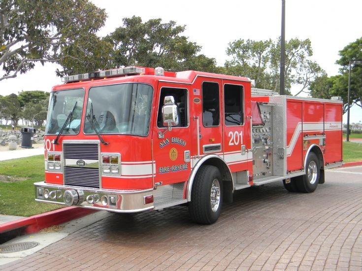 San Diego Fire Department Engine 201