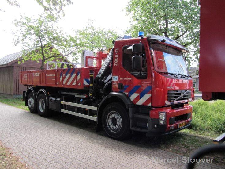 Brandweer Amsterdam Volvo Prime mover 13-9182