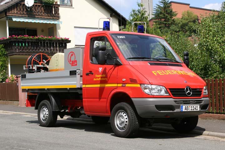 Aschaffenburg Bush Fire Unit  Gailbach