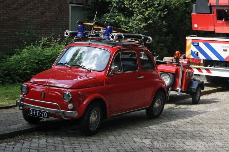 Fiat 500 Fire engine.