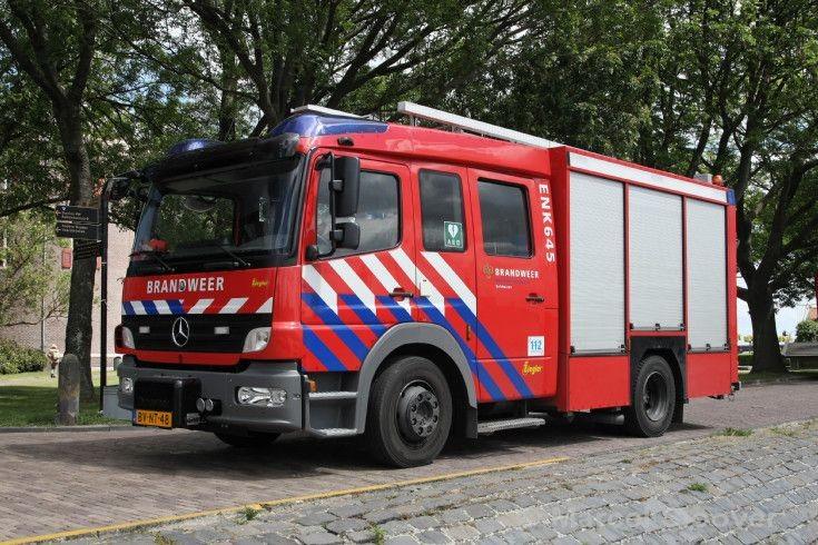 Brandweer Enkhuizen Mercedes Ziegler Azset