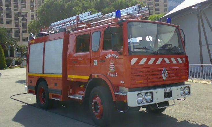 Monaco fire truck.