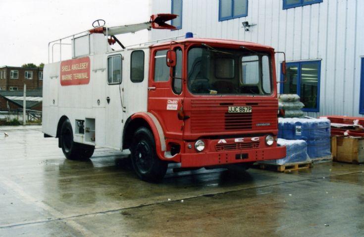 Anglesey Foam Tender JJC 867P