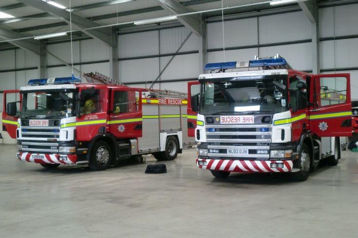 Redcar temp fire station