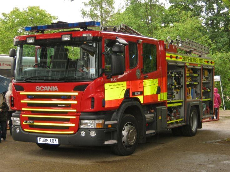 Derbyshire Scania Water Ladder
