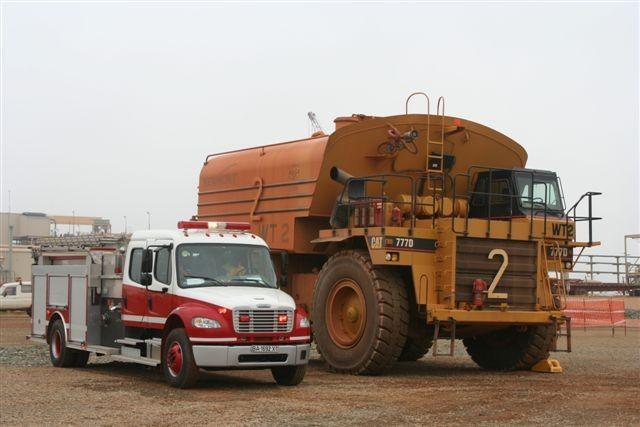 Rosenbauer pumper for Ghana
