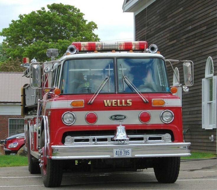 Wells Fire truck