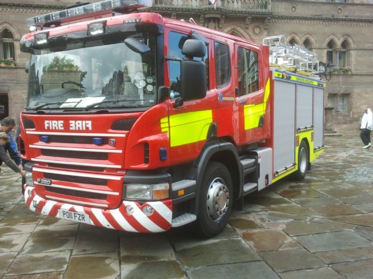 New Scania for Cheshire