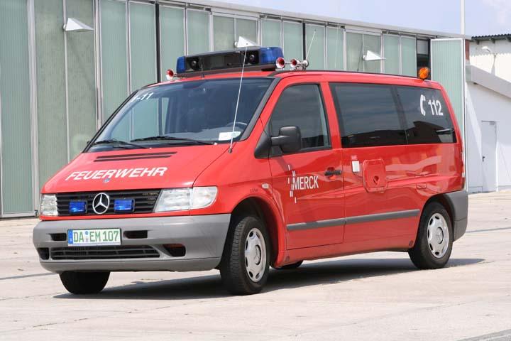 Werkfeuerwehr Merck Mercedes Duty Officer