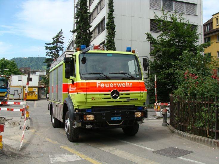 MB Rescue Zurich Fire Department