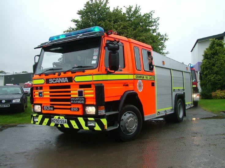 Scania Water Tender  Ex-Grampian Fire Service
