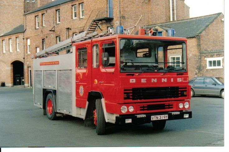 Dennis RS133 Pump.