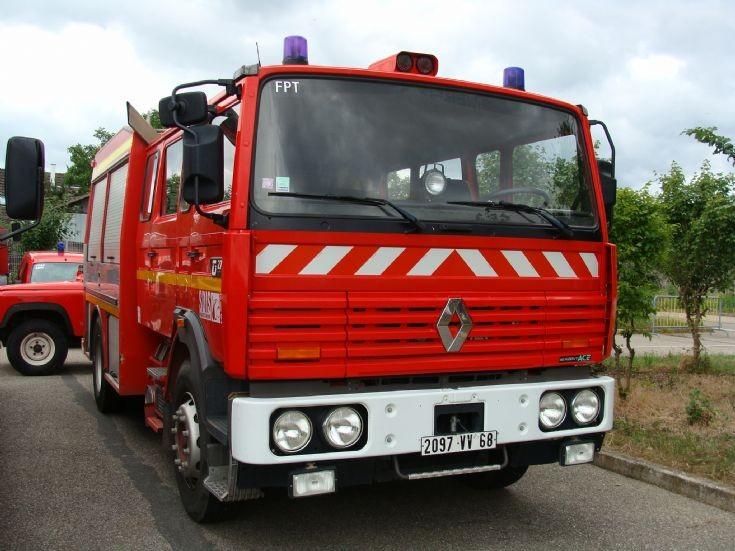 Renault Pumper Haut Rhin France