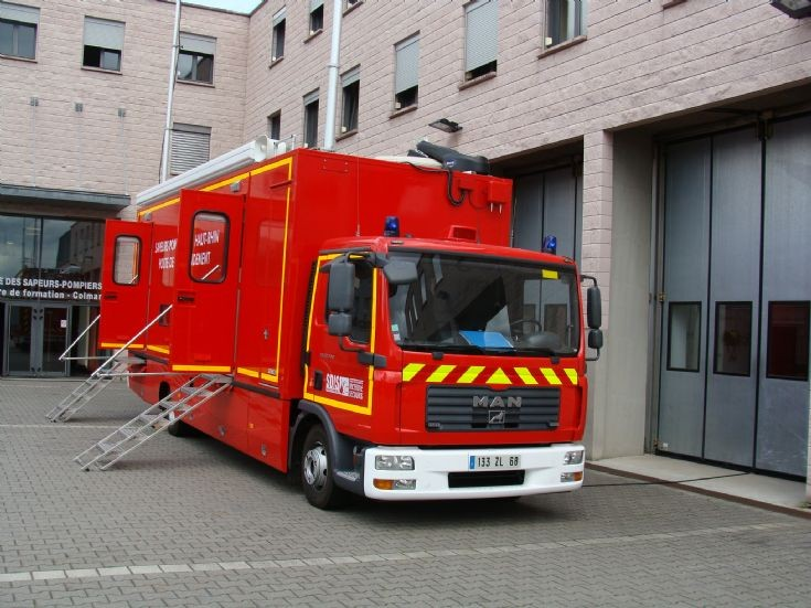 MAN Command truck Haut-Rhin 68 France
