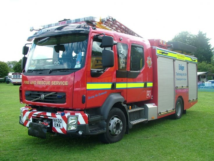 Volvo FLL Pump at Northumberland Fire & Rescue