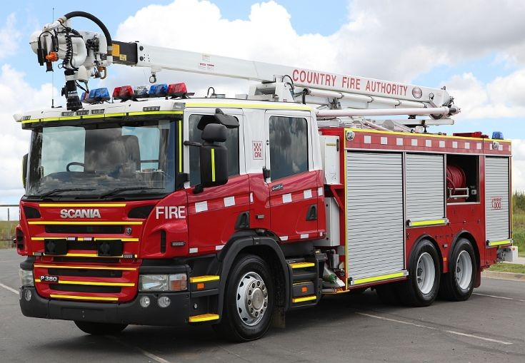 Scania P380 Arial Pumper (with snozzle)