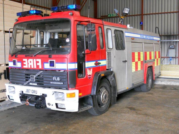 Ex dorset Volvo FL6 J87 ORU