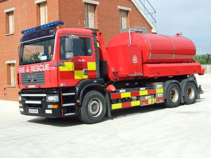 MAN Prime Mover Dorset FRS