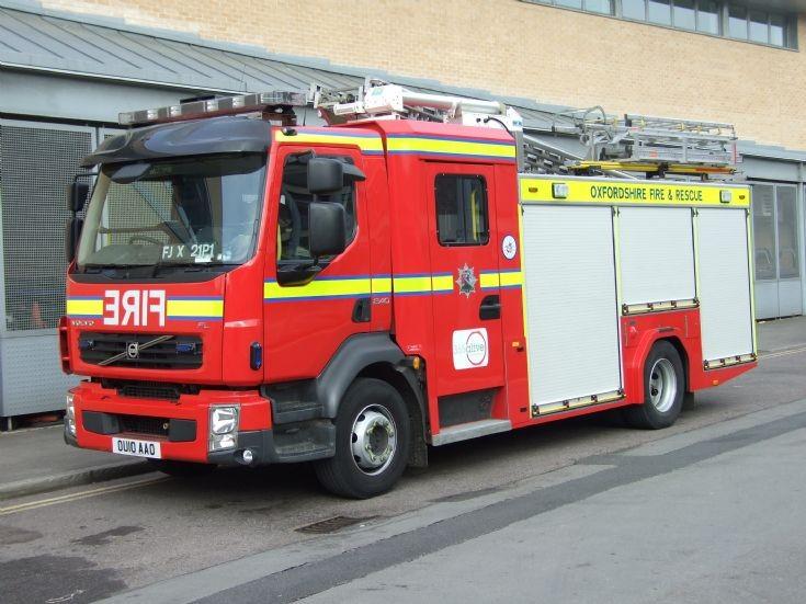 Oxfordshire Fire & Rescue Service Volvo FL240