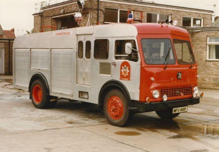 Humberside Bedford TK MFU 881F