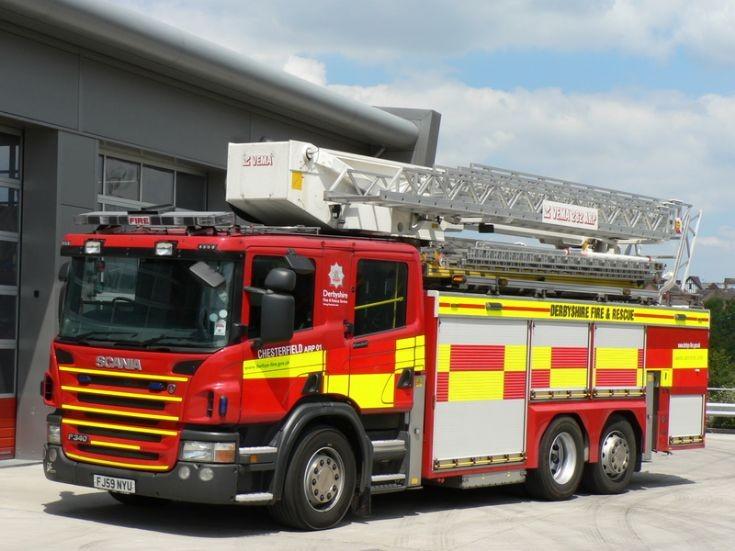 Derbyshire Fire & Rescue CARP FJ59 NYU