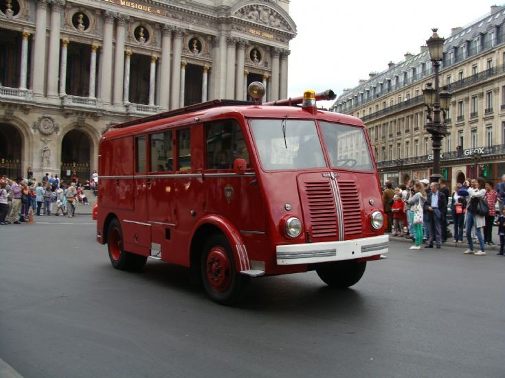 Berliet Pompiers de Paris