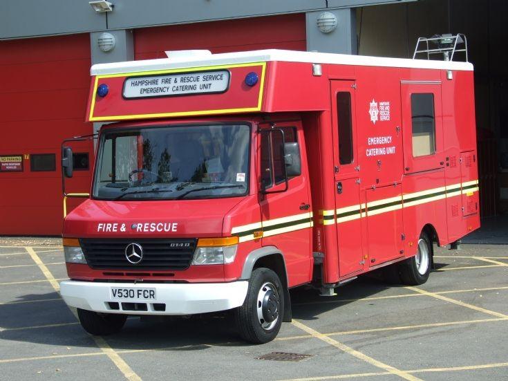 Emergency Catering Unit Mercedes V530 FCR